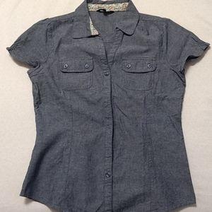 Chambray blouse - Small